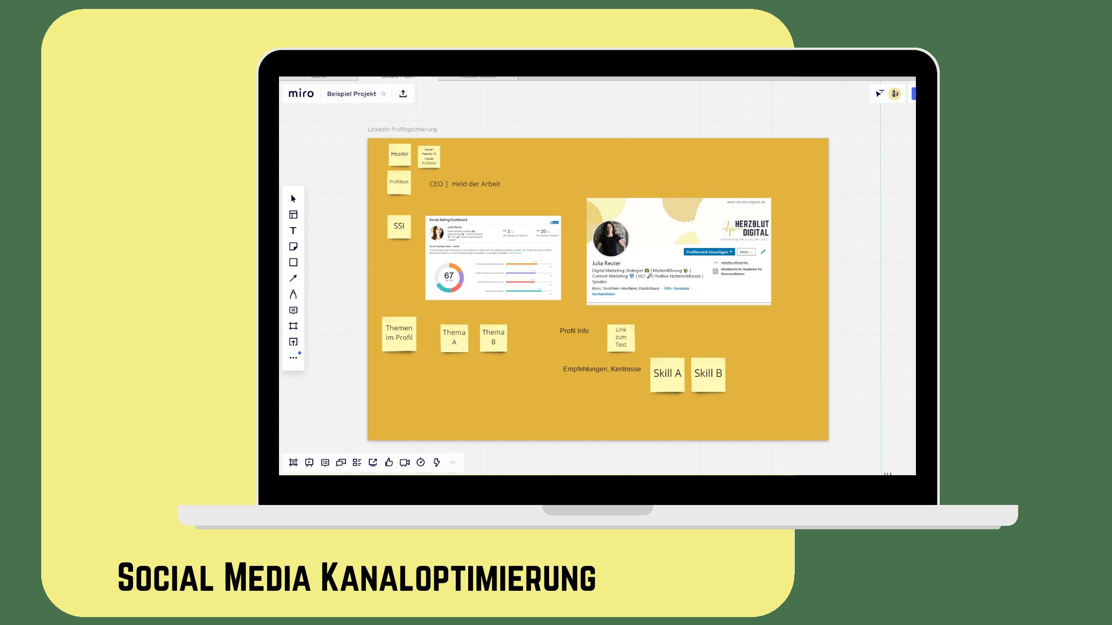 Social Media Kanaloptimierung