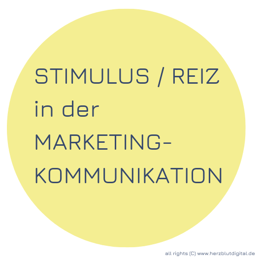 Stimulus Reiz im Marketing